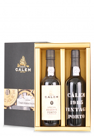 Vin Calem, Duo Time Perfectionist , Special Reserve Porto & Vintage 1985 (2 x 0.375L)