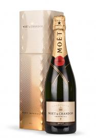 Champagne Moet & Chandon, Imperial Brut, Editie Coffret Gold (0.75L)