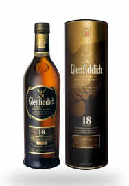 Whisky Glenfiddich 18 Year Old, Single Malt Scotch (0.7L)