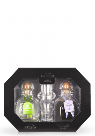 Set cadou Tequila Patron Duo: Tequila Silver si XO Cafe (2 x 0.35L)