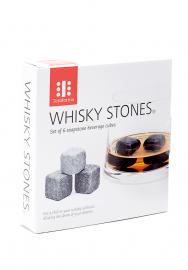 Whisky Stones Beverage Cubes Set de 6 bucati