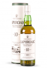 Whisky Laphroaig Islay Single Malt Scotch 10 ani (0.7L)