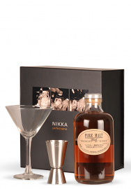 Whisky Nikka Perfect Serve Pure Malt Black, Set cadou (0.5L)