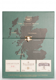 Whisky Classic Malts Collection, Strong Coffret (3x20cl)