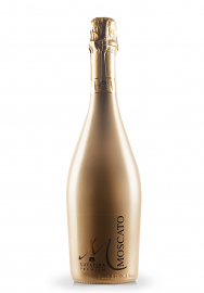 Spumant Cavatina Premium, Muscat Sparkling Gold bottle (0.75L)