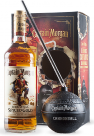 Rom Captain Morgan Spiced Gold Cannonball (0.7L)