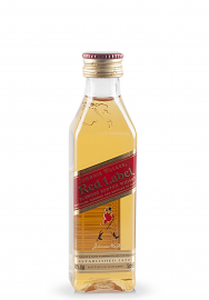 Whisky Johnnie Walker Red, Label Blended Scotch (0.05L)